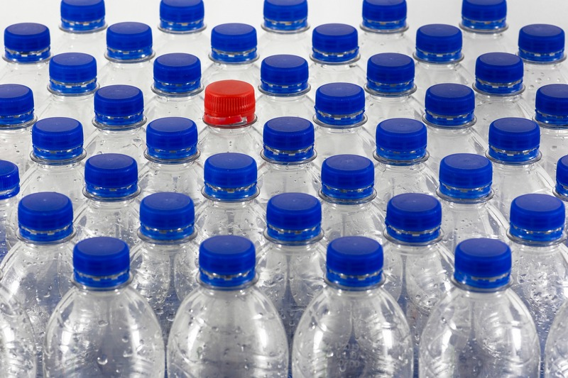 Detection of bacterial growth in water bottling increases food safety