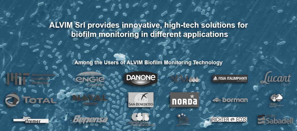 ALVIM Srl provides innovative, high-tech solutions for  biofilm monitoring in different applications